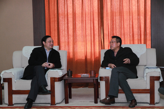 Chairman Mr. Cui (from MCAC) visit Zhenfa       25 January, 2013