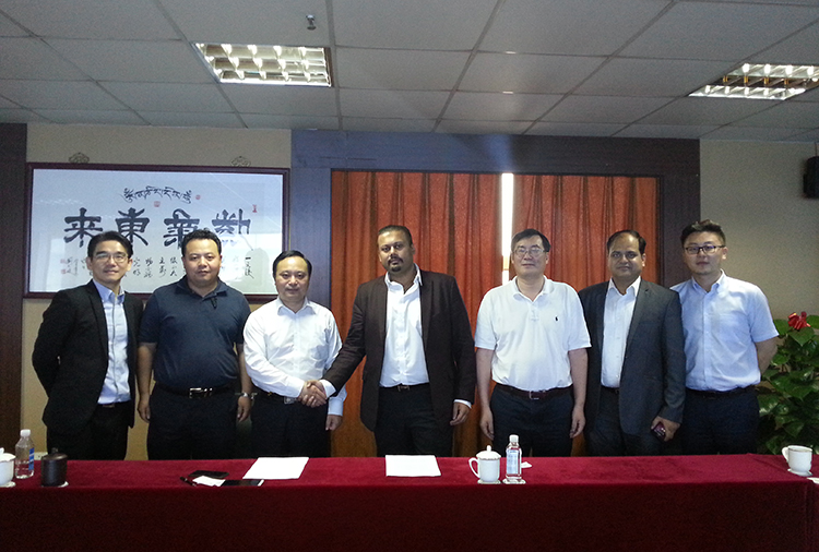 Rolta Power Ltd visited Zhenfa holding Group  and signed a MOU