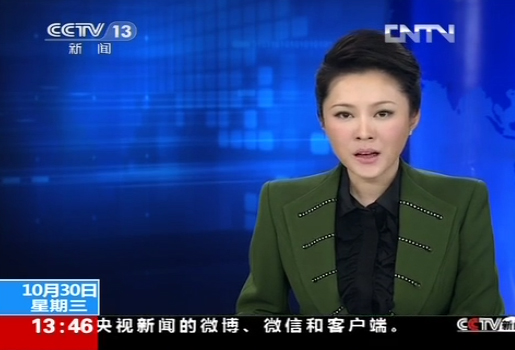 【20131030 CCTV <Live News Studio>】 Report on Zhenfa New Energy Jianhu