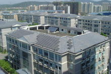 Industrial design Park solar roof project